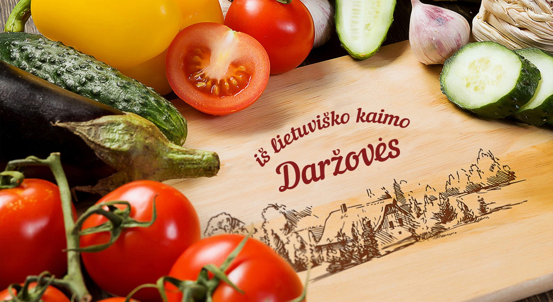 Daržovės iš Lietuviško kaimo VšĮ Bruneros