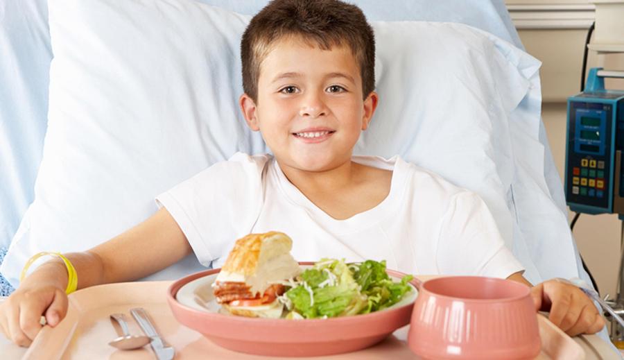 Ligoninių maitinimas